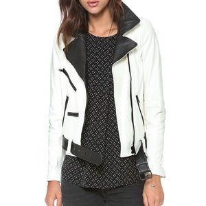 ALC White leather jacket